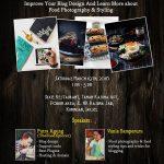 belajar desain blog dan food fotografi