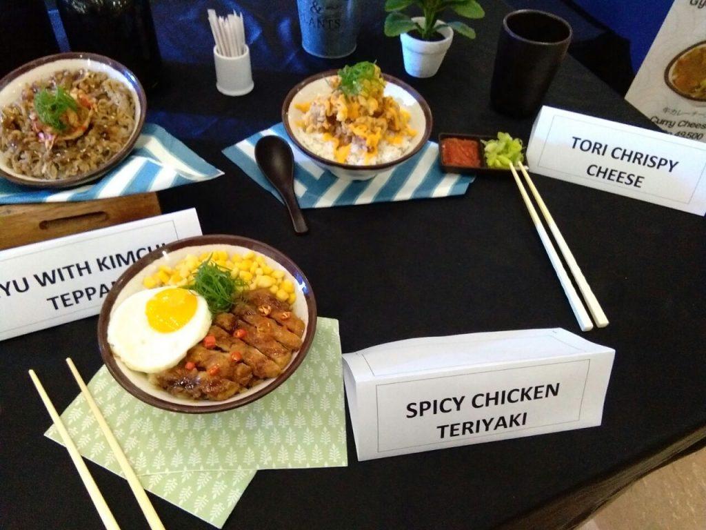 menu gyu jin teppan