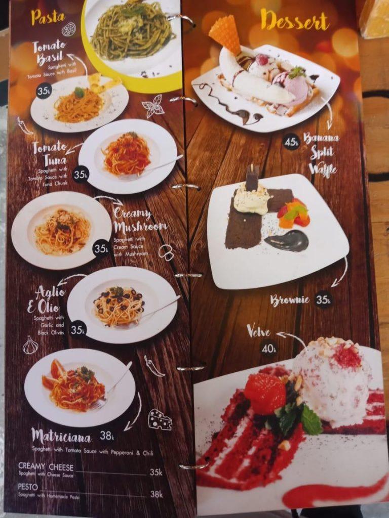 makanan di ciao gelato yogyakarta