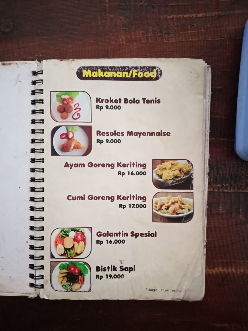 menu essen choco pot yogyakarta